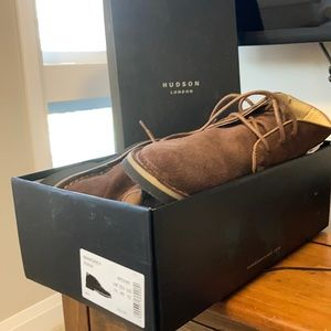 Hudson suede boots